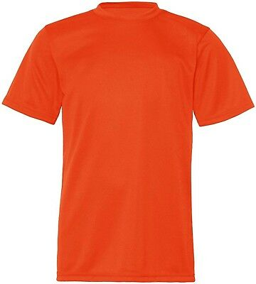 (X-Small, Burnt Orange) - C2 Sport 5200 - Youth Short Sleeve Performance T-Shirt