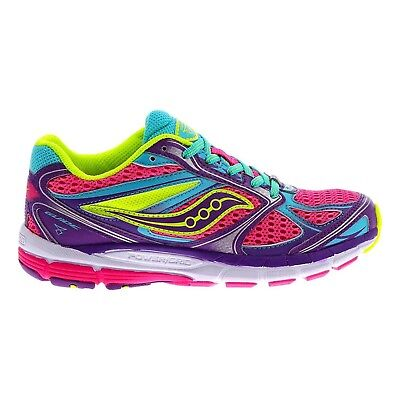 (6 M US Big Kid, Pink/Purple/Blue) - Saucony Guide 8 Running Girl's Shoes Size