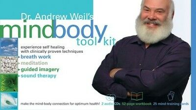 Dr. Andrew Weil's Mind-Body Tool Kit. Sounds True. Brand New