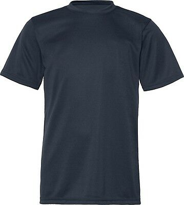 (Large, Navy) - C2 Sport 5200 - Youth Short Sleeve Performance T-Shirt