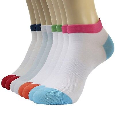 (8-pairs Multicoloured) - 3street Women's Fashion Novelty No Show Athletic