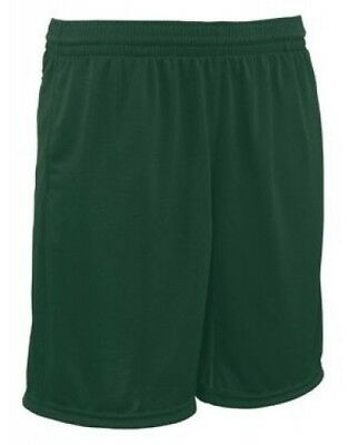(Medium, Dark Green) - Youth Trainer Coaches Short. Teamwork. Shipping Included