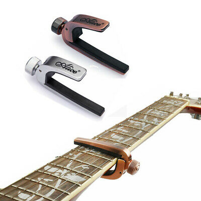 Ajustable Quick Change Metal Guitar Capo Tune Clamp for Acoustic Electric Guitar