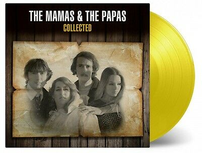 THE MAMAS & THE PAPAS Collected 2x LP COLOURED 2017 180g Music On Vinyl Mint/New