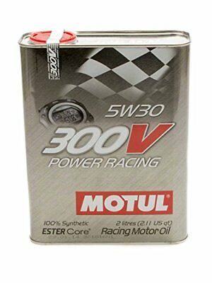 300V 5w30 Racing Oil Synthethic 2 Liters
