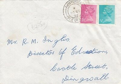 D 606 Arivruaich cds Isle of Lewis Western Isles Outer Hebrides Oct 1972  cover