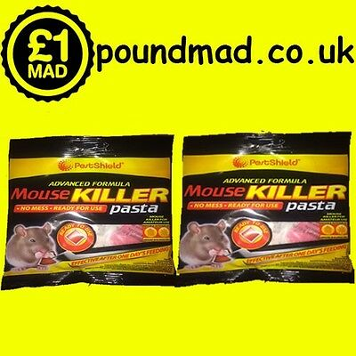 20 Why Buy Rat Mouse Glue Traps Instead Buy Rodent Mice Pasta Poison Killer 200g