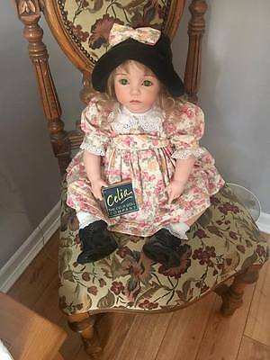 Celia Porcelain doll Lucy Number  167/our of 200