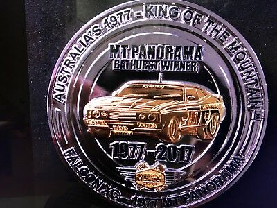 Musclecar Bathurst Winner King of Mountain 1977 XC Falcon Collectable Coin