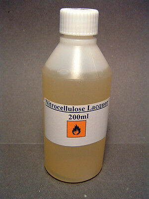 200ml.Nitrocellulose Lacquer. High Gloss finish, for high quality guitars