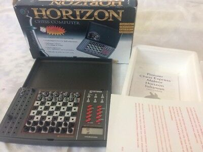 Horizon Chess Computer Systema Vintage With Instructions