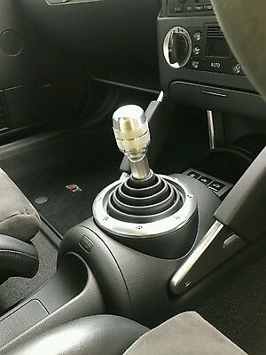"M-Tech Custom Made Alloy Gear Knob M12 X 1.5 Will Fit Mk1 Audi Tt R8 Style"" #48"