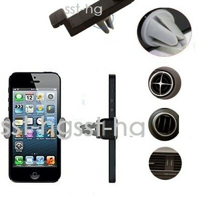 Universal Mobile Phone Holder In Car Air Vent Mount 360 Rotating Cradle Stand UK