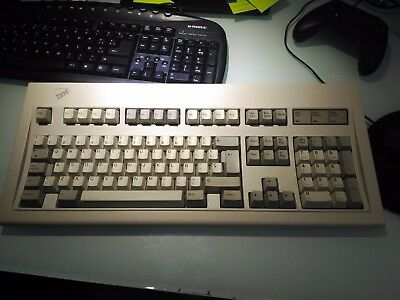 IBM Model M 1391406 SP Mechanical Keyboard  with cable