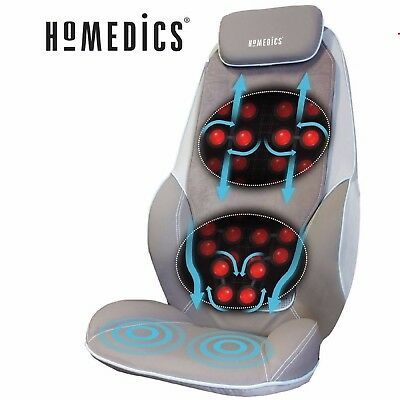 Homedics Shiatsu Pro Back & Shoulder Massager with Heat SBM-1010H-GB