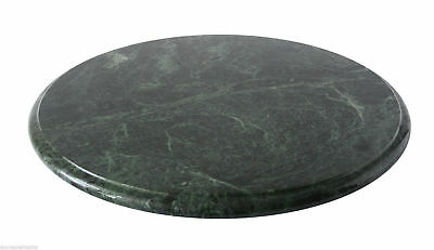 Flat Tray revolving for confectionery in Marble Turntable Plate Centerpiece