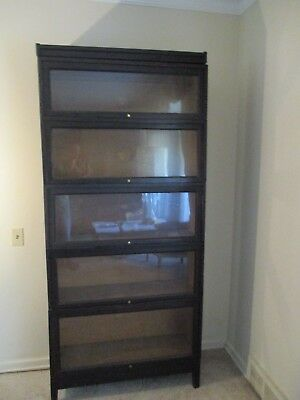 Antique Macys Lawyers 5 Section Stacking Bookcase - Local Pick Up Metro Detroit