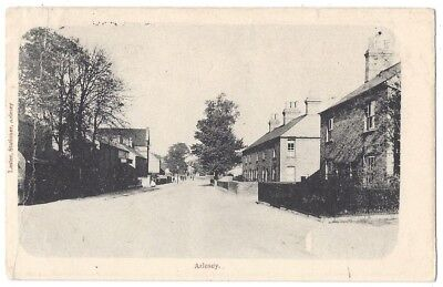 ARLESEY View in the Village, Bedfordshire, Old Postcard Postally Used 1904