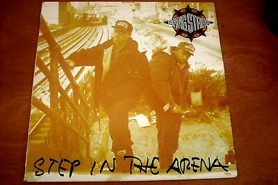Gangstarr - Step In The Arena - Vinyl - Ctlp 21 - 1991 Uk 1St Press -Gangsta Rap