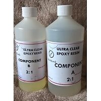 1kg Ultra-CLear Low Viscosity  Epoxy Resin [UV Resistant]