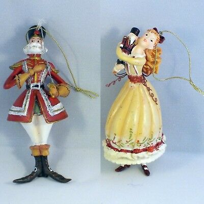 Christmas Tree Ornament Decorations Hanging Nutcracker and clara