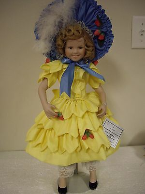 Shirley Temple By Danbury Mint, 1994 Porcelain Doll