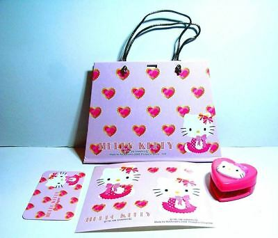 10 pieces Hello Kitty Note Book Le Shopping Sac McDonalds Diary w Stickers Bag