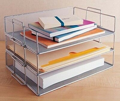 Mesh Stackable Paper Tray. Ybmhome. Huge Saving