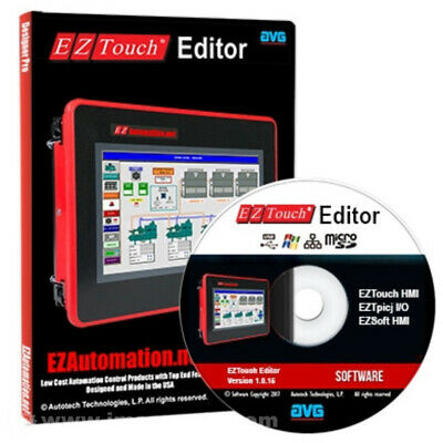 Eztouch-Editor, Programming Software (V1.0.5) Cd For All Eztouch Mfgd