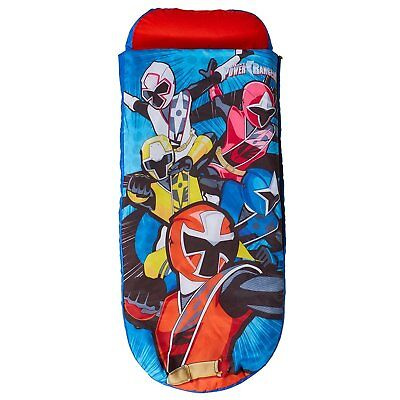 Children's ReadyBed Inflatable Sleeping Bag (Worlds Apart) Power Rangers!