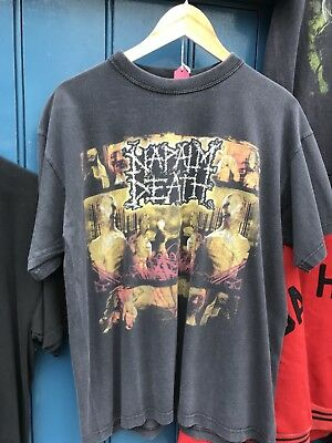 Vintage Nepalm Death Tour T Shirt