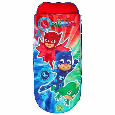 Children's ReadyBed Inflatable Sleeping Bag Bed (Worlds Apart) PJ Masks