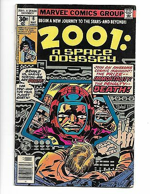 2001 : A Space Odyssey #6 Marvel Comics 1977 Very Good