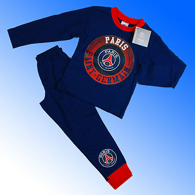Boys Authentic Official Paris St Saint Germain FC #PSG Pyjamas Age 4-12 Years