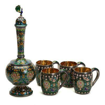Jaipur Silver Drinks Set