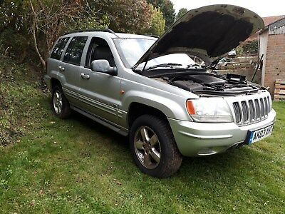 Jeep Grand Cherokee Overlander Diesel Project Not salvage Spares/repairs 4x4