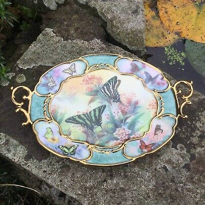 "Bradford Exchange Lena Liu Whispers Of Elegance ""Grace"" Limited Edition Plate"