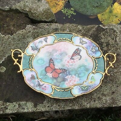 "Bradford Exchange Lena Liu Whispers Of Elegance ""Enchantment"" Ltd Edition Plate"