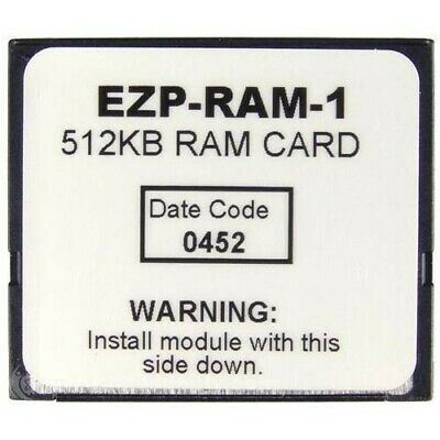 Ez-Ram-1, 512K Ram Card For Eztouch Operator Interfaces Only Mfgd