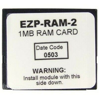 Ez-Ram-2, 1Mb Expansion Ram Card For Eztouch Operator Interfaces  Mfgd