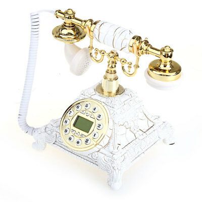 Antique Style Telephone Phone Delicate Decoration Ornament Room