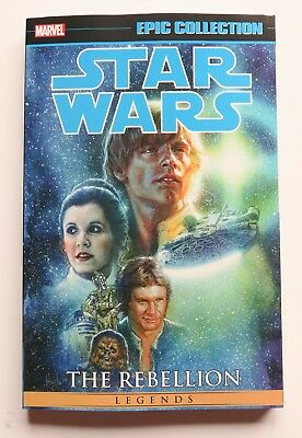 Star Wars The Rebellion Vol 2 Marvel Epic Collection Graphic Novel Comic Book
