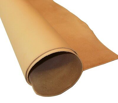 2Mm Thick Natural Veg Tan Craft Leather Hide Various Choice Of Sizes