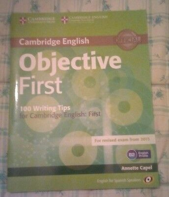 Objective First (100 writing tips) Cambridge