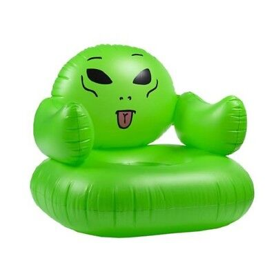 RipNDip WE OUT HERE INFLATABLE CHAIR Green Pool Float Home Multi Use Chair