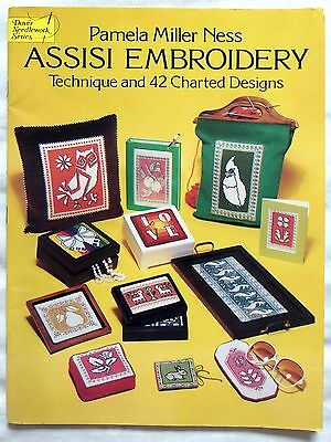 Assisi Embroidery Charted Designs Pattern Book - Pamela Ness