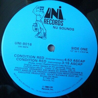 "Nu Sounds - Condition Red - 12"" Vinyl"