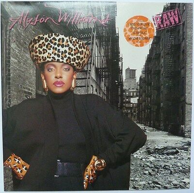 "Alyson Williams - Raw - 12"" Vinyl Lp"