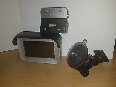 Autocab Minos Data Terminal With Cradle And Cable