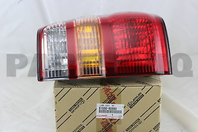 8155060560 Genuine Toyota LAMP ASSY, REAR COMBINATION, RH 81550-60560